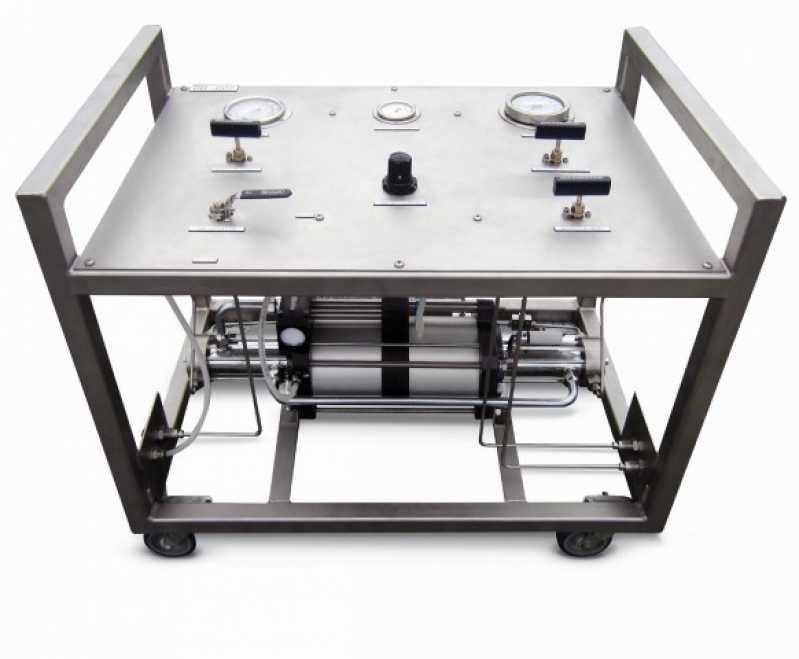 Empresa de Teste Pneumático no Belém - Teste Pneumático com Nitrogênio