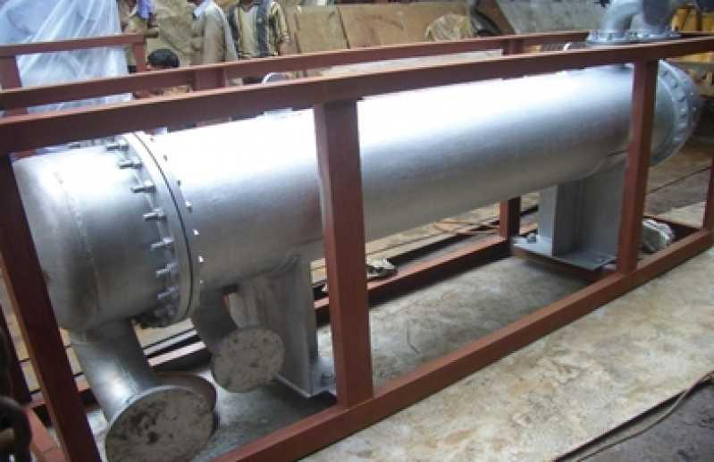 Manutenção de Permutador de Calor de Tubo Duplo em Galeão - Manutenção de Permutador de Calor