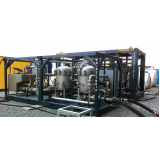 flushing com óleo hidráulico