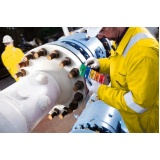 inspeção dimensional de caldeiraria e tubulação