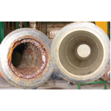 limpeza química de tubulação