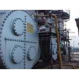 manutenção de caldeira industrial