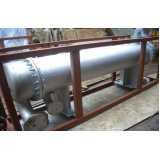 manutenção de permutador de calor de tubo duplo